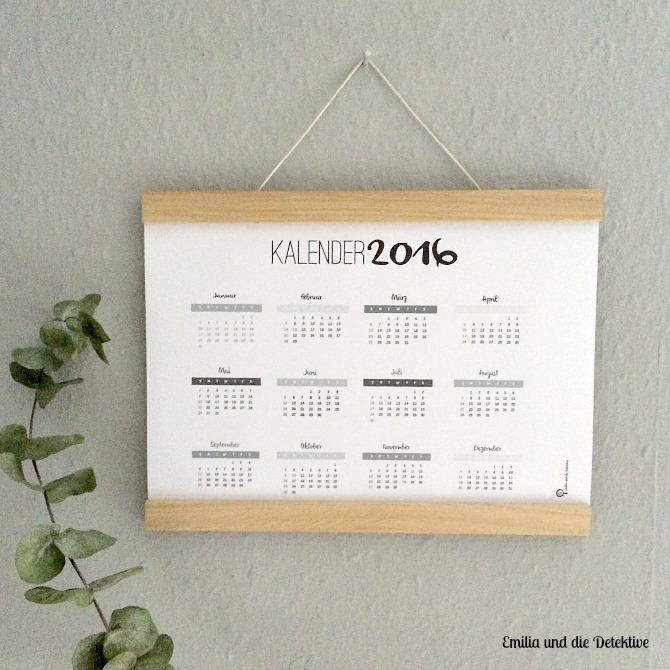 Kalender 2016 zum Downloaden