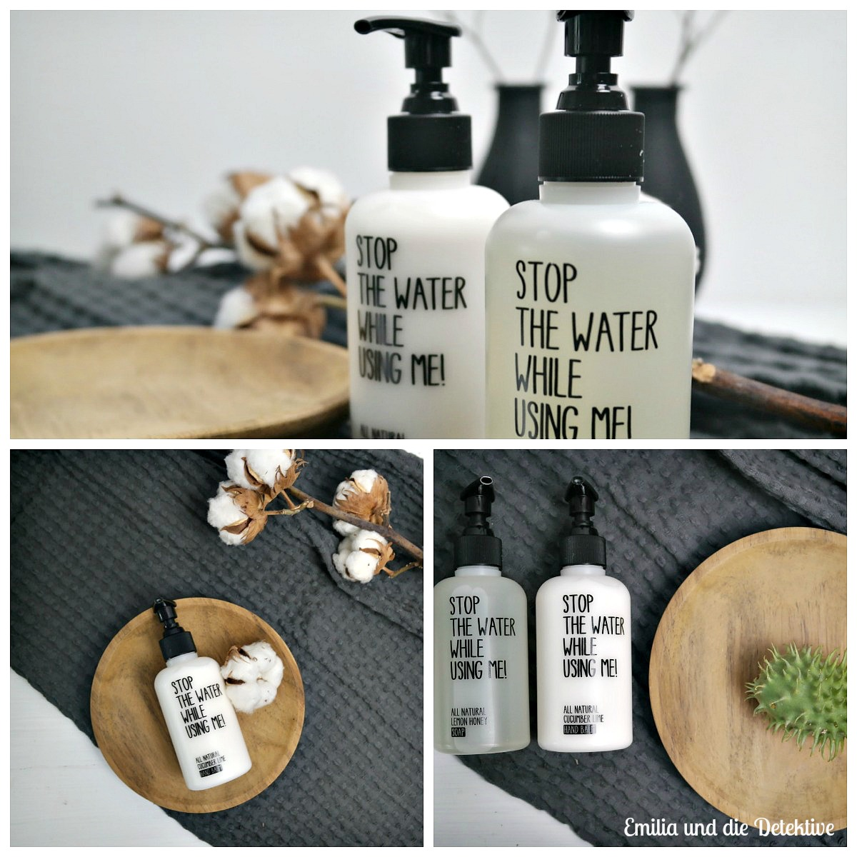 Stop Water while using me & Burggraf Garten und Stein