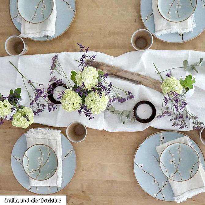 Table Setting mit URBANARA Geschirr